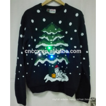 16PKCS06 2016 adults LED lights sweater for christmas Christmas sweater