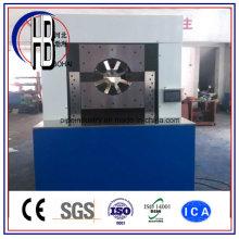 Ferramenta rápida de friso da máquina de friso do encaixe de mangueira industrial do PLC