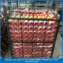 Conveyor Steel Roller Red Color