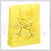 Saco de compras de papel para presente (KG-PB050)
