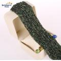 Vente en gros de pierres naturelles Jasper Loose Strand Size 2mm 3mm Natural Jade Gemstone