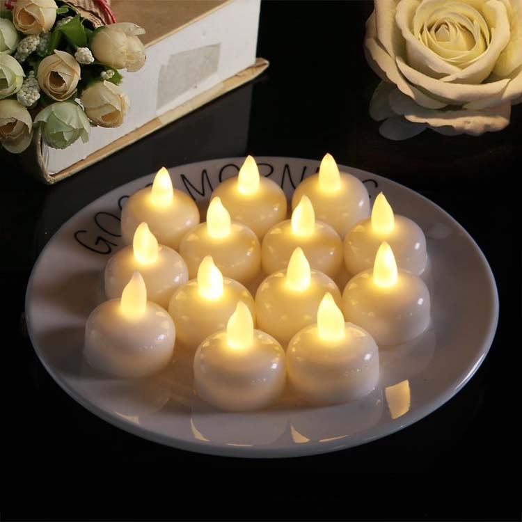LED Floating Tea Candles