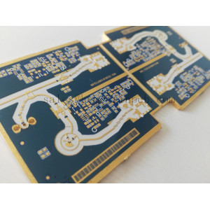 Radio-frequency PCB Prototype Fabrication