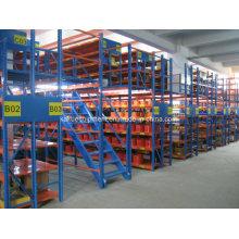 Steel Multi-Tier Racking for Industrial Warehouse Storage