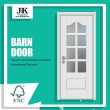 JHK-G28 Accordian Double Glass Door Mobile Home Doors