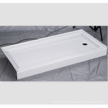 "with Right and Left-Hand Drain 60"" X 32"" Shower Base"
