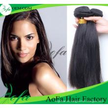 Peluca de pelo remy humano brasileño de la Virgen del pelo recto de la moda el 100%