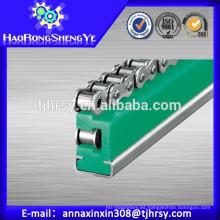 UHMWPE ETA Tipo rodillo Guías de cadena para la industria de fabricación de payper