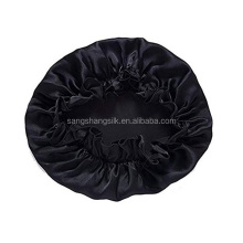 Bandagem elástica de seda bonnet boné de seda touca de dormir