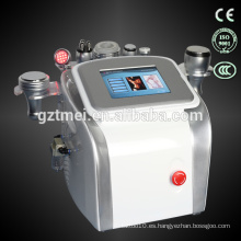 Cavitación portátil + vacum + rf ultrasonido cavitación liposucción equipos de belleza