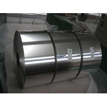Aluminiumfolie in kleiner Rolle