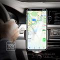 2018 nouveau moule breveté qi capteur intelligent chargeur rapide sans fil chargeur avec CE, ROHS, certificats FCC pour Samsung et pour iPhone charge