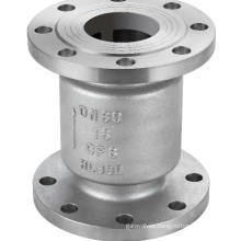 Vertical Lift Type Stainless Steel Flanged Check Valve