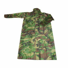 Plastic Long Military PVC Raincoats For Men