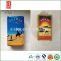 Atacado bom gosto chinês chá verde chunmee embalagem em caixa de papel