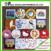 Mejor vendido logotipo impreso de primera calidad Cork Coaster (EP-C125511)