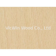 Natural White Beech Wood Veneer Sheet Crown/quarter Cut
