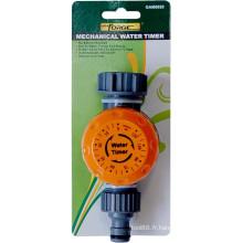 Outils de minuterie mécanique minuterie d'arrosage de jardin vers le haut à 2 heures