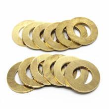 Stainless brass aluminum flat gasket