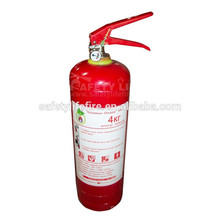 Powder fire extinguisher ABC 4kg/DCP fire extinguisher/abc bc dry chemical powder for fire extinguisher