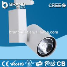 5 años de garantía 95lm / w COB LED Track Light, luz de pista de 30w LED, luz LED Spot Track