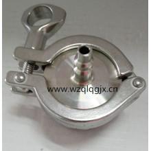 Válvula de retención sanitaria de compresor de aire de acero inoxidable
