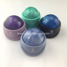 Muscle relaxation and facial massage roller ball