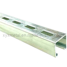 Perforated Slotted Unistrut U Strut Channel Steel