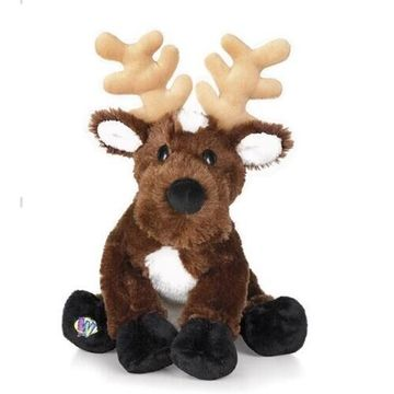 The snowman elk doll plush toys