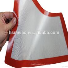 2015 Tapis de cuisine de haute qualité à base de silicone résistant à la chaleur