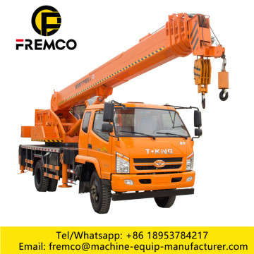 Hydraulic 3-20 Tons Small Truck Crane for Sale