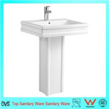 Melhor Bacia de pedestal de lavatório cerâmico de lavatório barato