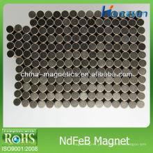 ímã de NdFeB motor / rotor magnético D5 * 3mm