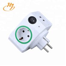 EU Tipo 2-USB Smart Plug