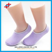 2015 benutzerdefinierte Frauen Süßigkeiten farbig unsichtbare Socke