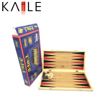 Nouveau Custom Professional 3 en 1 Echecs en bois