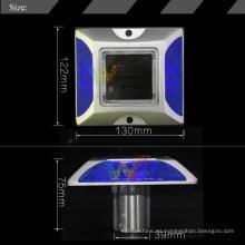 Seguridad vial reflectante aluminio solar led carretera stud