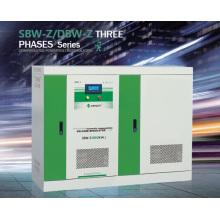 Regulador de tensão de ajuste inteligente trifásico da série SBW-Z de melhor venda