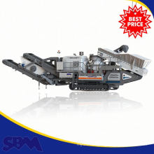 High quality Electric motor mini jaw crusher mobile wholesale