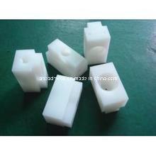 CNC de mecanizado de piezas se hacen del HDPE de plástico