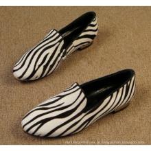 Largos sapatos de largura para as mulheres (hcy02-721)