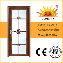Top Sale Aluminum Alloy Bathroom Door (SC-AAD055)