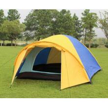 Tente d'extérieur 4person Higking Mountain Camping Tente d'extérieur double imperméable
