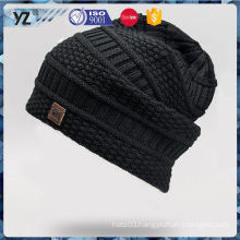 Latest product low price knit hats/ caps with good offer