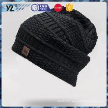 Últimas produtos de baixo preço tricô chapéus / bonés com boa oferta