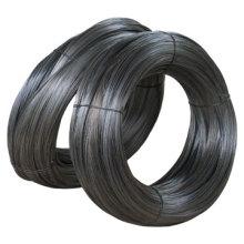 Alambre recocido recocido negro suave de la fábrica