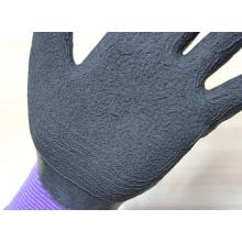 Nouvelle arrivée 13Gauge en nylon tricotant des gants de travail avec latex mousse