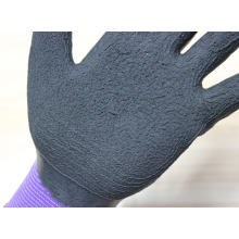 New arrival 13Gauge nylon knitted working gloves with foam latex