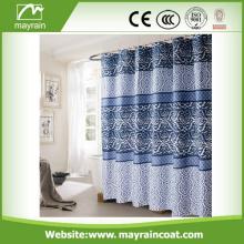 Waterproof Black PVC Shower Curtains In European Style