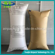 Saco de ar protetivo tecido branco PP de Dunnage do amortecedor do amortecedor dos PP